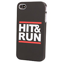 Buy Tshirt Store Hit & Run Case for iPhone 4 & 4s Online at johnlewis.com