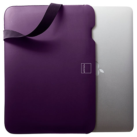 "Buy Acme Made Skinny 13"" MacBook Air Sleeve, Purple Online at johnlewis.com"