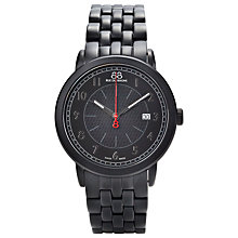Buy 88 Rue Du Rhone 87WA120038 Men's Black Dial Bracelet Watch, Black Online at johnlewis.com