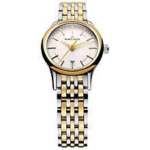 Buy Maurice Lacroix LC1113-PVY13-130 Les Classiques Women's Two-Tone Bracelet Watch, Gold/Silver Online at johnlewis.com