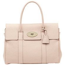 Buy Mulberry Bayswater Grainy Print Leather Shoulder Handbag Online at johnlewis.com