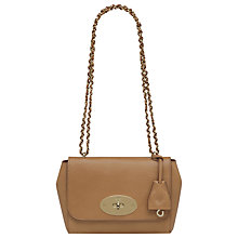 Buy Mulberry Grainy Print Leather Mini Lily Shoulder Handbag Online at johnlewis.com