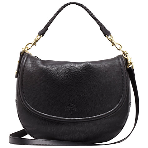 Buy Mulberry Leather Effie Satchel Bag Online at johnlewis.com