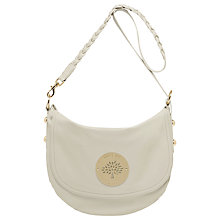 Buy Mulberry Daria Satchel, Pear Sorbet Online at johnlewis.com