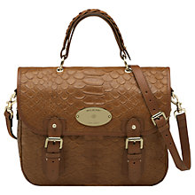 Buy Mulberry Trout Satchel Bag Online at johnlewis.com