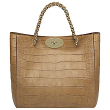 Buy Mulberry Cecily Soft Croc Print Tote Online at johnlewis.com