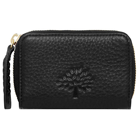 Buy Mulberry Effie Leather Small Zip Around Purse Online at johnlewis.com