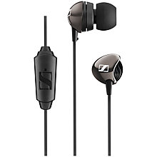 Buy Sennheiser CX 275s In-Ear Headphones with Microphone, Black Online at johnlewis.com