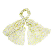 Buy COLLECTION by John Lewis Layered Geometric Print Scarf Online at johnlewis.com