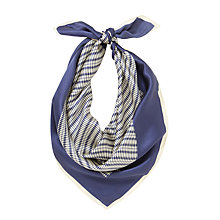 Buy COLLECTION by John Lewis Linea Stripe Print Silk Square Scarf Online at johnlewis.com