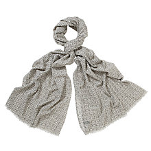 Buy COLLECTION by John Lewis Tile Print Scarf Online at johnlewis.com