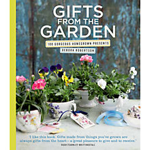 Buy Gifts from the Garden: 100 Gorgeous Homegrown Presents Online at johnlewis.com