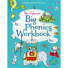 Buy The Usborne Big Phonics Workbook Online at johnlewis.com
