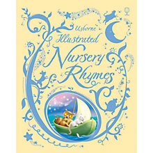 Buy Usborne Illustrated Book of Nursery Rhymes Online at johnlewis.com