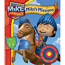Buy Mike the Knight: Mike's Missions: A Novelty Sound Boardbook Online at johnlewis.com