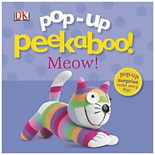 Buy Pop-Up Peekaboo Meow! Boardbook Online at johnlewis.com