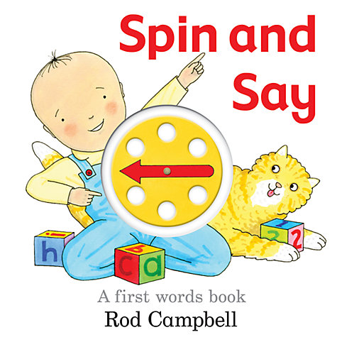 Buy Spin and Say: A First Words Book Online at johnlewis.com