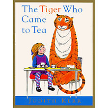 Buy The Tiger Who Came To Tea (Audiobook) Online at johnlewis.com