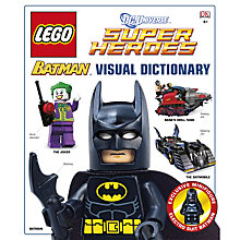 Buy Lego Batman Visual Dictionary: DC Universe Super Heroes Book Online at johnlewis.com