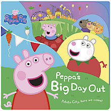 Buy Peppa's Big Day Out Book Online at johnlewis.com