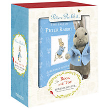 Buy Peter Rabbit Book and Toy Gift Box Online at johnlewis.com