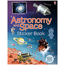 Buy Usborne Astronomy and Space Sticker Book Online at johnlewis.com