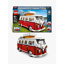 Buy Lego Creator Camper Van Online at johnlewis.com