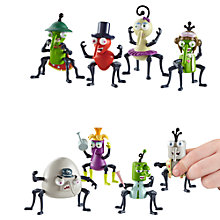 Buy Bin Weevils Character Figures, Pack of 4, Assorted Online at johnlewis.com