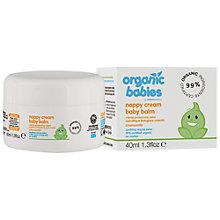 Buy Organic Babies Nappy Cream Baby Balm Online at johnlewis.com
