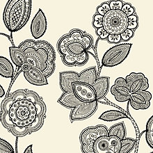 Buy John Lewis Folk Floral Napkins, Pack of 20, 40 x 40cm, Online at johnlewis.com