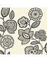 John Lewis Folk Floral Napkins, Pack of 12, 40 x 40cm,