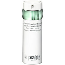 Buy La Prairie Advanced Marine Biology Revitalizing Emulsion - Face, Eyes, Neck, 50ml Online at johnlewis.com