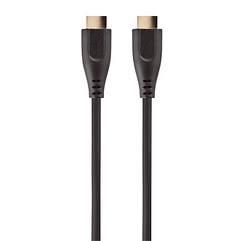 Buy John Lewis High Speed HDMI Cable, 3D compatible, 3m Online at johnlewis.com