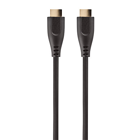 Buy John Lewis High Speed HDMI Cable, 3D compatible, 2m Online at johnlewis.com