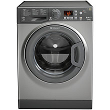 Buy Hotpoint Futura WMFG8537G Washing Machine, 8kg Load, A+++ Energy Rating, 1500rpm Spin, Graphite Online at johnlewis.com