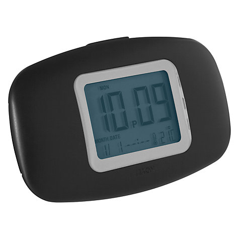 Buy Lexon Galaxy Alarm Clock, Black Online at johnlewis.com