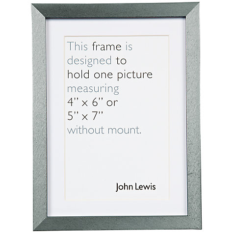 "Buy John Lewis Brights Photo Frame, 4 x 6"" Online at johnlewis.com"