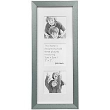 Buy John Lewis Brights Tall 3 Apperture Photo Frame Online at johnlewis.com