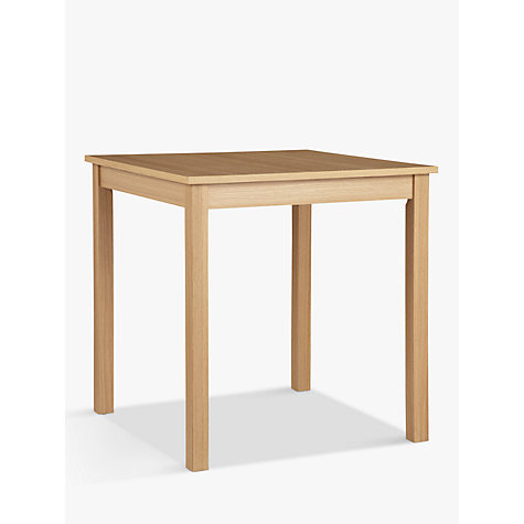 Buy John Lewis The Basics Daisy 2 Seater Dining Table Online at johnlewis.com
