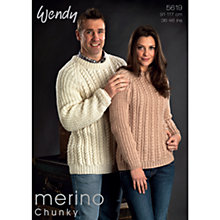 Buy Wendy Merino Chunky Leaflet, 5619 Online at johnlewis.com