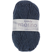 Buy Wendy Merino Chunky Yarn, 50g Online at johnlewis.com