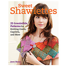 Buy Sweet Shawlettes Knitting Pattern Book Online at johnlewis.com