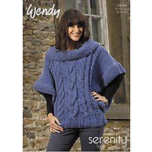 Buy Wendy Serenity Super Chunky Knitting Leaflet, 5644 Online at johnlewis.com