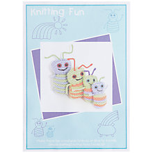 Buy Twilleys Rainbow Bugs Knit Kit Online at johnlewis.com