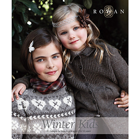 Buy Rowan Winter Kids Knitting & Crochet Patterns Brochure Online at johnlewis.com