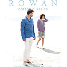 Buy Rowan Cotton Classics Knitting Patterns Brochure Online at johnlewis.com