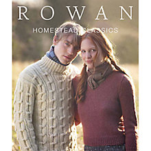 Buy Rowan Homestead Classics Knitting Patterns Brochure Online at johnlewis.com