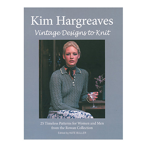 Buy Rowan Vintage Designs Knitting Patterns Book Online at johnlewis.com