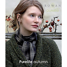 Buy Rowan Purelife Autumn Knitting Patterns Brochure Online at johnlewis.com