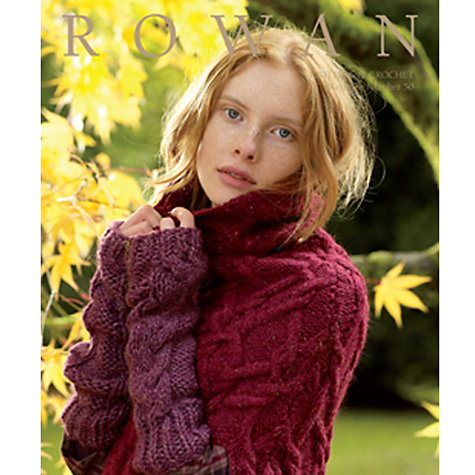 Buy Rowan Knitting & Crochet Magazine 50 AW11 Online at johnlewis.com